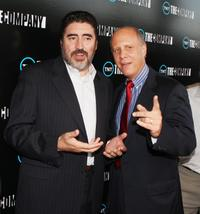 Alfred Molina and David Rosemont at the premiere of TNT's