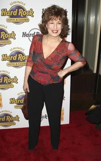 Joy Behar at the launch of Lorraine Braccos wine Bracco Wines.