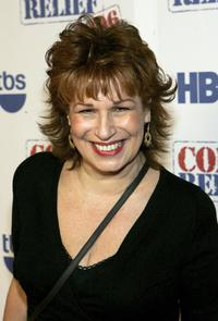Joy Behar at the Comic Relief 2006 show.