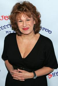 Joy Behar at the launch party of her new book