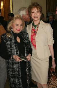 Carol Connors and Mary Tyler Moore at the Tribute To Mary Tyler Moore at Beverly Hilton Hotel.