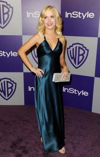 Angela Kinsey at the InStyle and Warner Bros. 67th Annual Golden Globes after party.