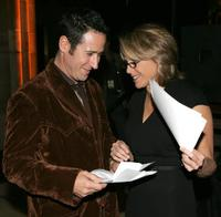 Rob Morrow and Katie Couric at the Project A.L.S.
