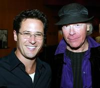 Rob Morrow and Henry Jaglom at the after party for premiere of