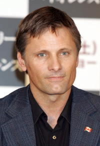 Viggo Mortensen at the Japan press conference of the film