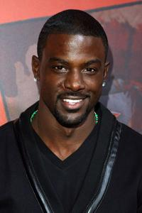 Lance Gross at the Afro Samurai Video Game Launch party .