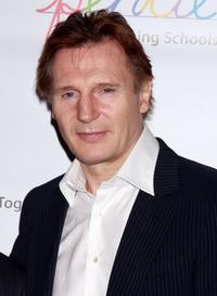Liam Neeson at the PENCI's 2008 Spring Gala and Awards.