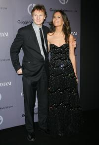 Liam Neeson and Roberta Armani at the Guggenheim Museum's Young Collectors Council 2006 Artist's Ball.