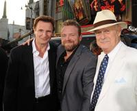 Liam Neeson, Joe Carnahan and Gerald McRaney at the California premiere of