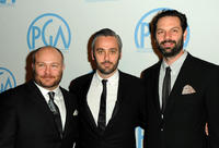 Gareth Unwin, Iain Canning and Emile Sherman at the 22nd Annual Producers Guild Awards.