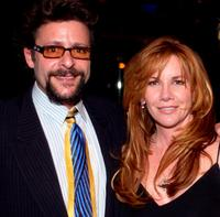Judd Nelson and Melissa Gilbert at the Julian Lennon's birthday party.