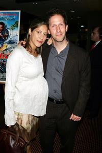 Tim Blake Nelson and his wife at the premiere of