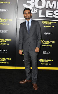 Aziz Ansari at the California premiere of