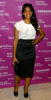 Amara Karan at the New York Film Festival.