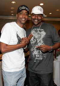Miguel A. Nunez and Gary Anthony Sturgis at the BET Awards.