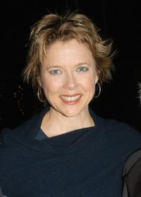 Annette Bening at the Library Foundation of Los Angeles 2005 Awards Dinner honoring Harper Lee.