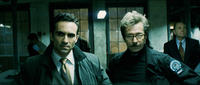Nestor Carbonell and Gary Oldman in