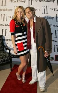 Grace Otto and Barry Otto at the official launch party of Lili Summer's new collection