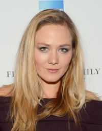 Louisa Krause at the New York premiere of