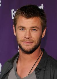 Chris Hemsworth at the EW and SyFy party during Comic-Con 2010.