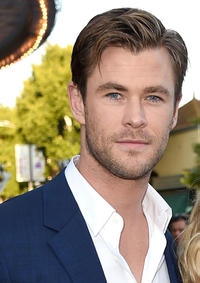 Chris Hemsworth at the California premiere of