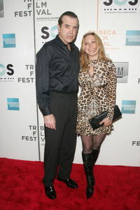 Chazz Palminteri and his wife Gianna Ranaudo at the opening night premiere of