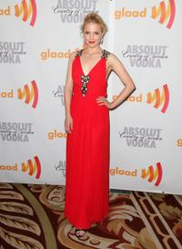 Dianna Agron at the 21st Annual GLAAD Media Awards.