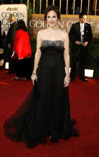 Mary-Louise Parker at the 64th Annual Golden Globe Awards in Beverly Hills.