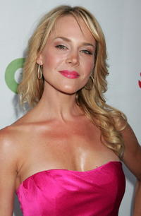 Julie Benz at the CW/CBS/Showtime/CBS Television TCA party.
