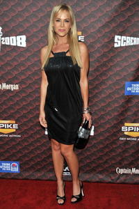 Julie Benz at the Spike TV's 2008 Scream Awards.