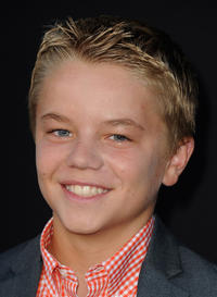 Maxwell Perry Cotton at the California premiere of