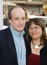 David Paymer and Liz at the world premiere of