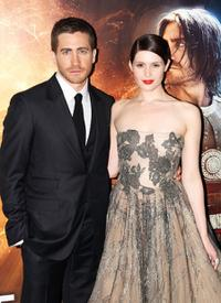 Jake Gyllenhaal and Gemma Arterton at the World premiere of