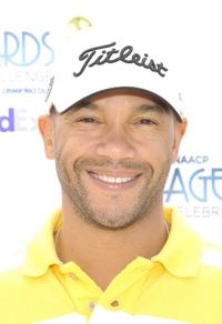 Stephen Bishop at the 41st NAACP Image Awards' Celebrity Golf Challenge.