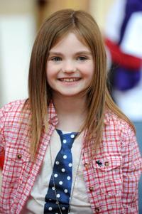 Morgan Lily at the premiere of