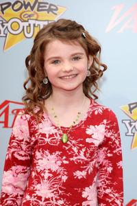 Morgan Lily at the Variety's 3rd Annual Power of Youth Event.