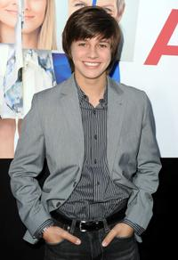 Billy Unger at the premiere of
