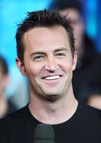 Matthew Perry at the MTV's High School Week on Total Request Live.