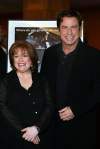 Donna Pescow and John Travolta at the Academy of Motion Picture Arts and Sciences 30th anniversary screening of