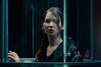 Jennifer Lawrence as Katniss Everdeen in ``The Hunger Games.''