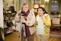 Shirley Knight as Mom and Raini Rodriguez as Maya Blart in