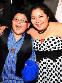 Rico Rodriguez and Raini Rodriguez at the Opening Night of