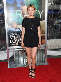 Taylor Schilling at the world premiere of