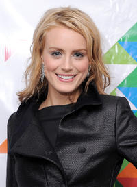 Taylor Schilling at the WNBC Celebrates The Rockefeller Center Tree Lighting Ceremony in New York.