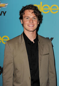 Jonathan Groff at the California premiere of