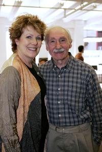 Lynn Redgrave and Denis Holmes at The Constant Wife Rehearsal.