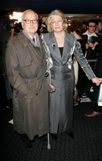 James Ivory and Vanessa Redgrave at the UK premiere of