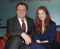 John C. Reilly and Julianne Moore at the Children of Bellevue's Reach Out and Read 10th Anniversary Celebration.