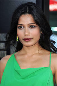 Freida Pinto at the premiere for