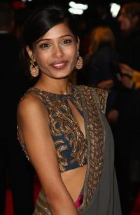 Freida Pinto at the screening of